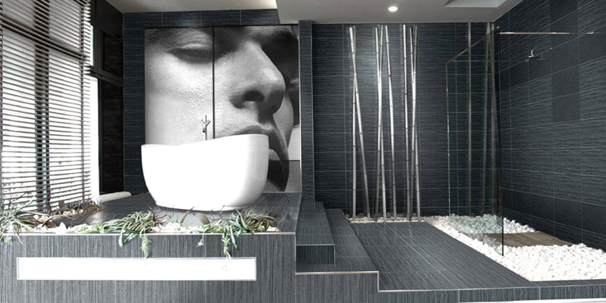 Waterfall Porcelain Tile | by Kate-Lo Tile and Stone.