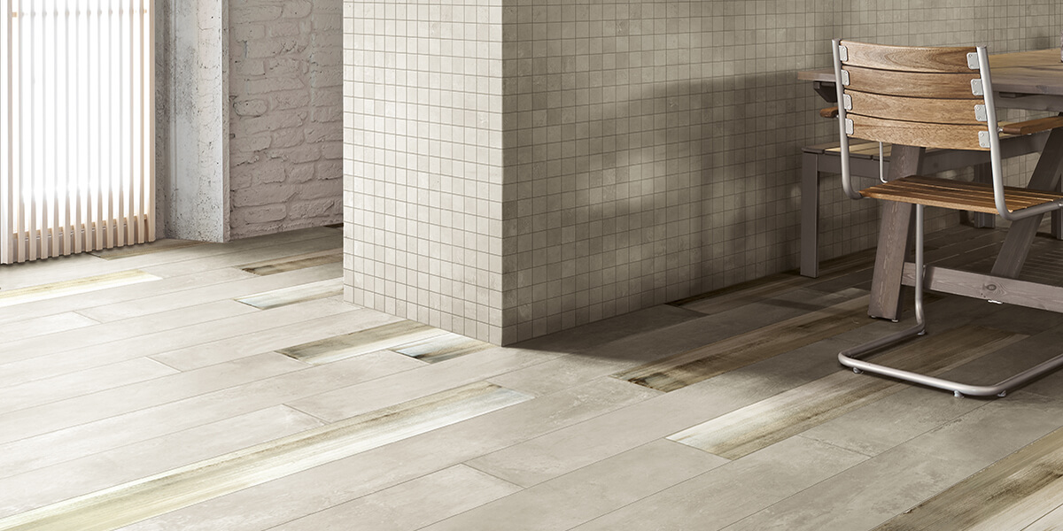 +One Canvas Porcelain Floor Tile Florim Milestone