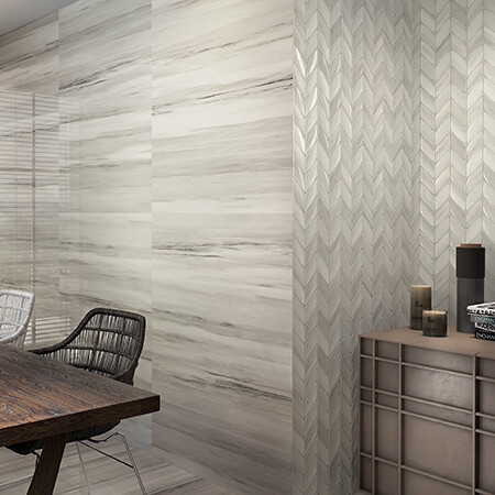 Riverdale Ash Glazed Wall Tile 3D Olympia